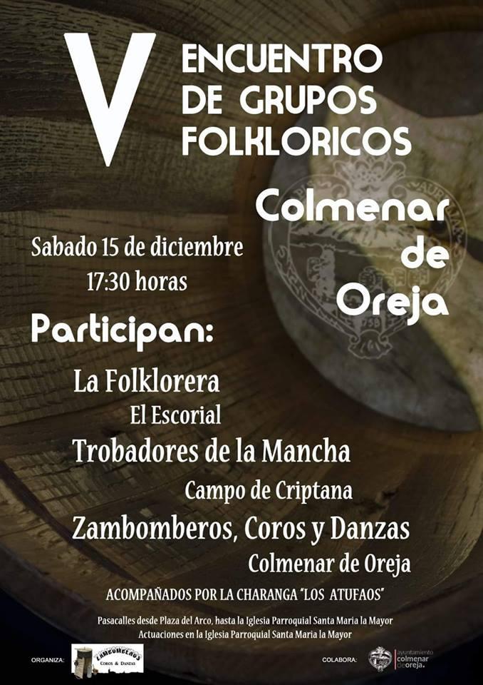 Encuentro Folklorico Colmenar de Oreja