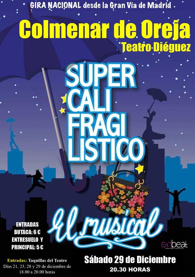 Supercalifragislistico teatro Navidad Colmenar de Oreja